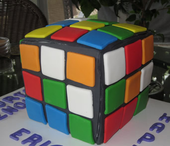 rubik s cube cake by cubby cakes